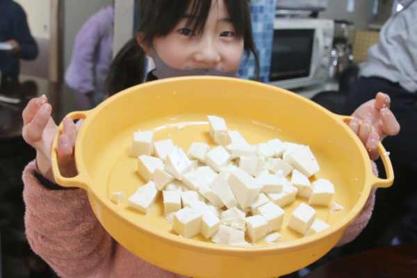 BG塾で豚汁作りをサポート!